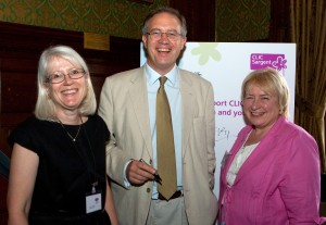 John Baron MP sponsors CLIC Sargent Parliamentary reception