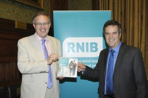 John Baron MP hosts RNIB Parliamentary reception