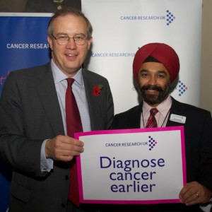 John Baron MP addresses Cancer Research UK's Parliamentary Reception