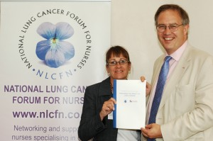 John Baron MP highlights the benefits of lung cancer nurses