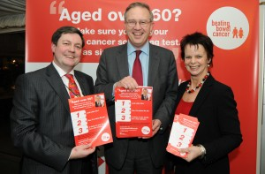 John Baron MP highlights poor local take-up of screening at Beating Bowel Cancer's Parliamentary reception