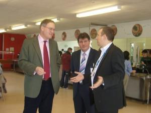 John Baron MP visits Basildon Campus