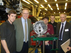 John Baron MP visits Ford Dunton to highlight National Apprenticeship week