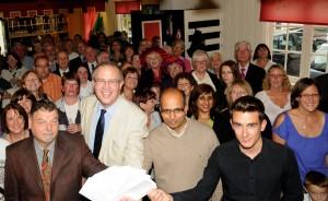 John Baron MP: 2011 Fun Walk smashes all records