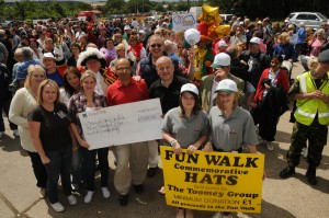 John Baron MP: 2012 Fun Walk set to break all records