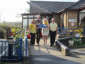 John Baron MP welcomes St Luke's to 2012 Fun Walk