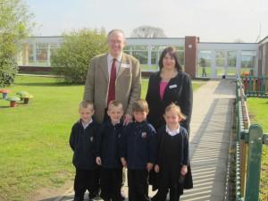 John Baron MP visits Janet Duke Primary School
