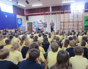 John Baron MP visits Quilters Junior School Billericay