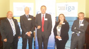 John Baron MP addresses Eye Health Reception on Glaucoma