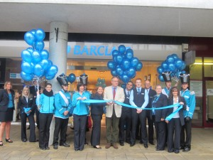 John Baron MP officially opens new branch of Barclays Bank in Basildon Town Centre