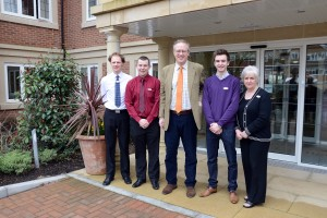 John Baron MP visits Hallmark Care Homes to promote apprenticeships