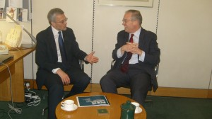 John Baron MP discusses policing issues with Nick Alston