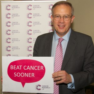 John Baron MP attends Cancer Research UK Reception