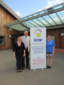 John Baron MP meets BOSP Charity at the  Pioneer School