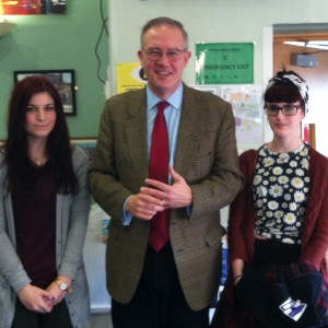 John Baron MP addresses Billericay School 6th Form