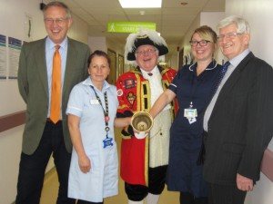 John Baron MP visits Basildon Hospital Radio for 40th Birthday Celebrations