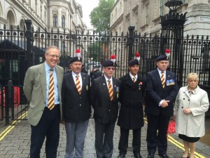 John Baron MP: 2RRF Honour Guard marches off the square