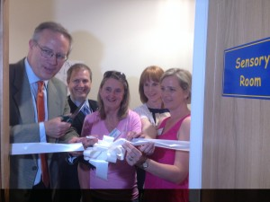 John Baron MP opens new sensory room, Buttsbury Pre-School