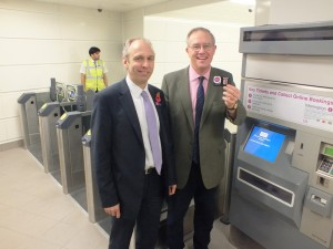 John Baron MP welcomes new c2c Smartcard