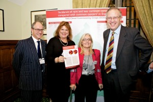 John Baron MP hosts and addresses 'Cancer52' Parliamentary reception