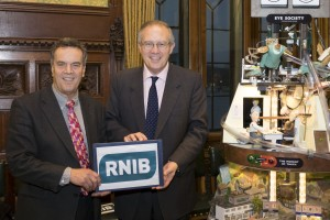 John Baron MP hosts Parliamentary launch of RNIB report