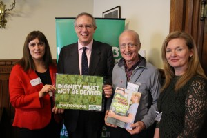 John Baron MP attends Macmillan Cancer Support Parliamentary reception