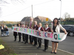 John Baron MP supports Laindon Park School  parking measures
