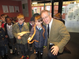 John Baron MP opens new Reptile House at Barleylands Farm, Billericay