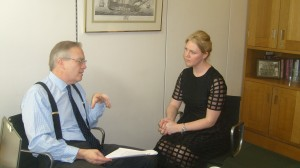 John Baron MP welcomes local start up success 'KC Events' to Parliament