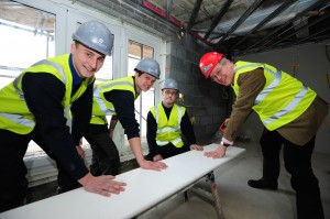 John Baron MP meets apprentices during visit to Gloucester Gate