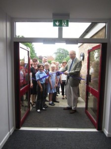 John Baron MP officially opens new extension to Buttsbury Junior School, Billericay