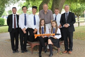 John Baron MP visits James Hornsby Students following their Paris success in the International Rocketry Final