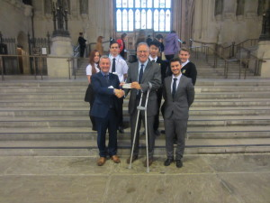 John Baron MP welcomes James Hornsby's 'Rocket Team' to Parliament