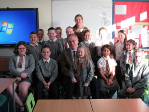 John Baron MP visits Millhouse Junior School, Laindon