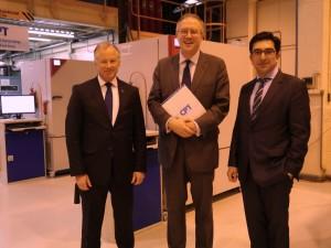 John Baron MP visits Controlled Power Technologies, Laindon