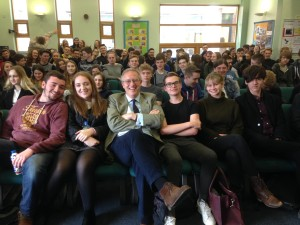 John Baron MP speaks to The Billericay School 6th Form students