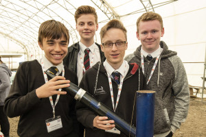 John Baron MP congratulates James Hornsby School on reaching National Rocketry Final