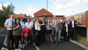 John Baron MP officially opens new McDonald's Restaurant, Laindon