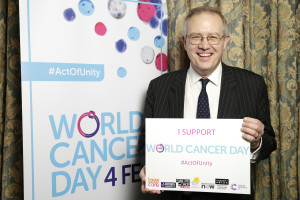John Baron MP attends World Cancer Day Reception
