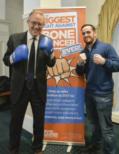 John Baron MP joins 'Biggest Fight Against Bone Cancer' campaign