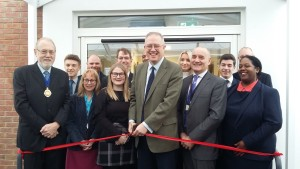 John Baron MP officially opens new languages classroom block at Mayflower High School, Billericay